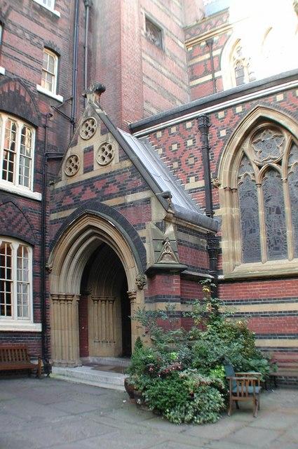 All Saints, Margaret Street, London W1 - Porch