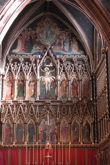 All Saints, Margaret Street, London W1 - Sanctuary