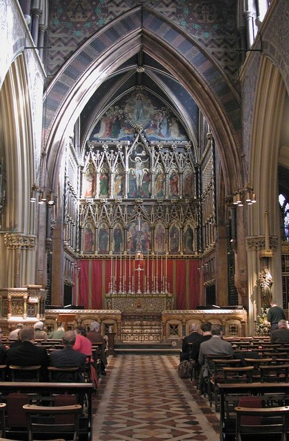 All Saints, Margaret Street, London W1 - East end