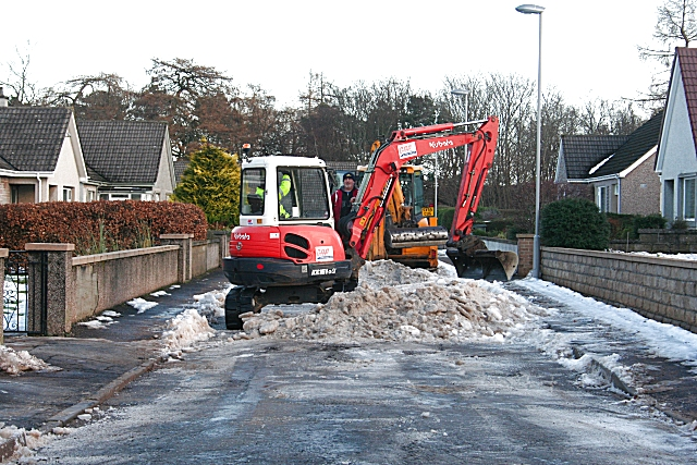 Clearing the Snow at Last