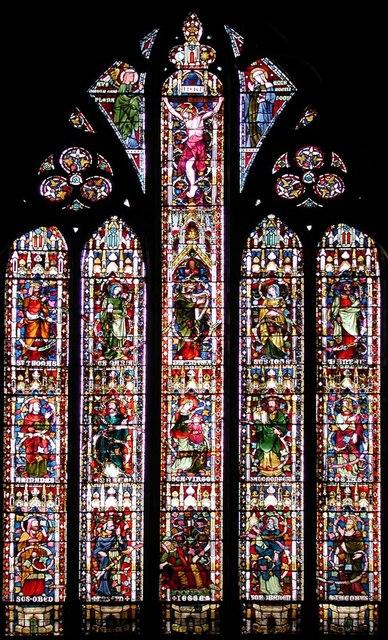 All Saints, Margaret Street, London W1 - West window