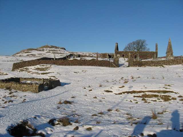 Winter scene in Dunvegan