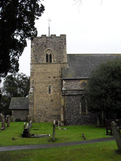 Rustington Parish Church- south view