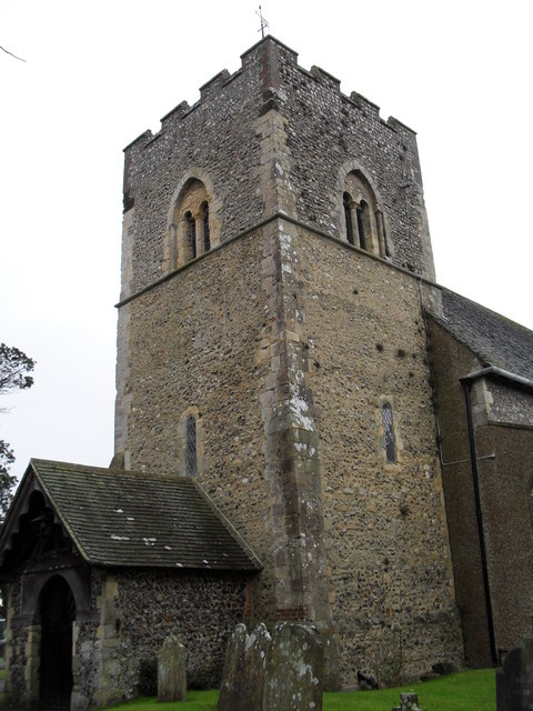 Rustington Parish Church: south-west view