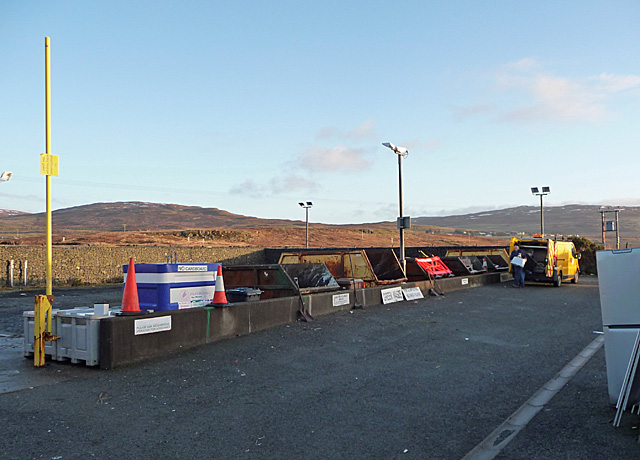 Portree Recycling Centre
