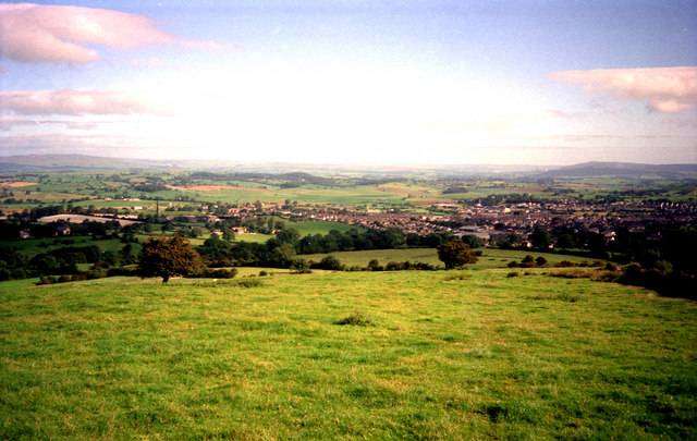 Barnoldswick:  view from High Lane
