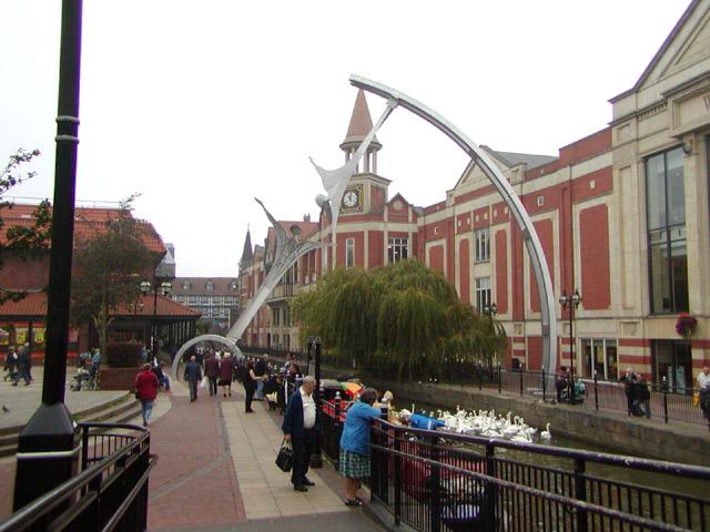 Waterside looking towards the High Street
