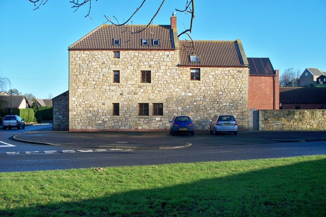 A dwelling converted from an older building