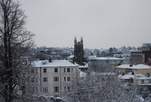 View from Mount Ephraim across Tunbridge Wells