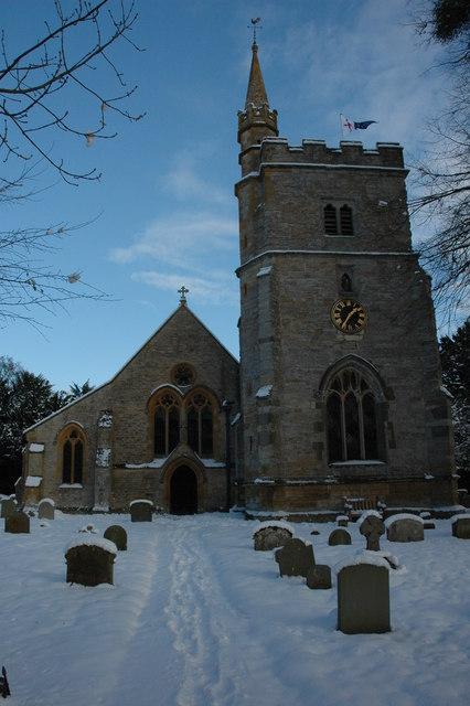 St James' church, Birlingham