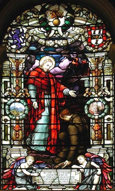 Holy Trinity, Great Portland Street, London W1 - Window