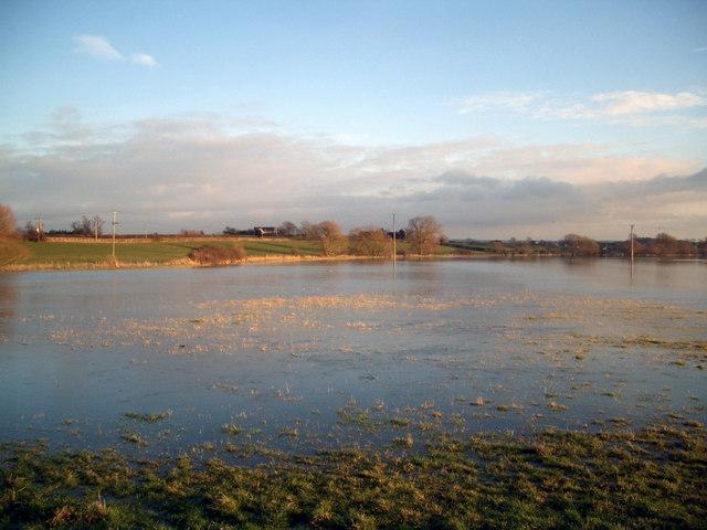 Flooded again