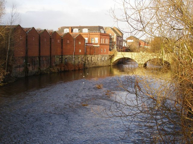 River Irwell, Radcliffe