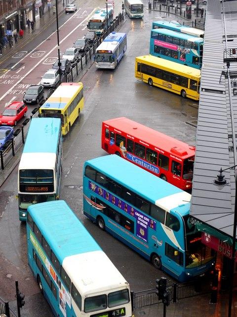 Haymarket Bus Station, Percy Street