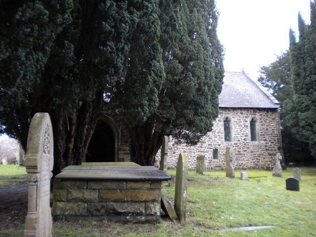 Church of St Michael & All Angels, Neuadd, Powys