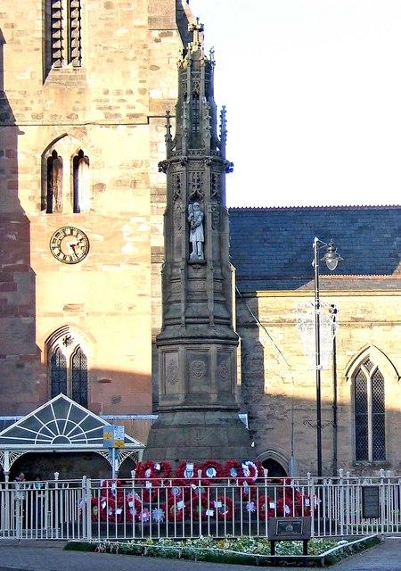 War Memorial, St. Peter's Square