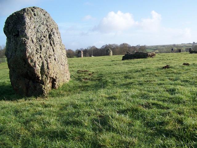 Standing stone, Stanton Drew