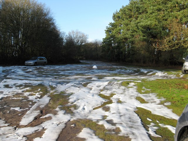 Overflow car park at RSPB at Pulborough Brooks