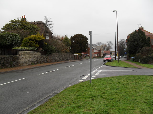 Junction of Hobbs Way and Sea Lane