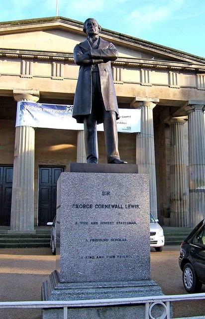 Statue of Sir George Cornewall Lewis