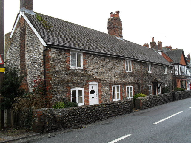 Cottages in Sea Lane