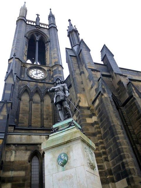 Royal Tank Regiment War Memorial, St Thomas' Church