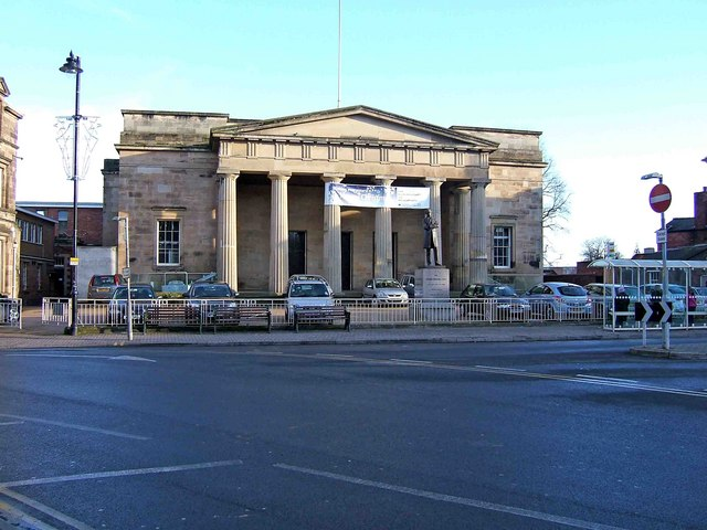 Shire Hall, St. Peter's Square