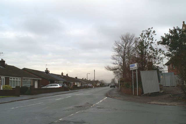 Junction of Alder Lane with Fir Tree Lane