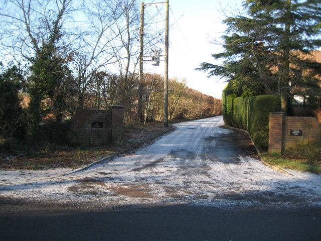 Speen: Site of the former Speen railway station