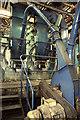 SO8171 : Pulverised fuel Lancashire boiler, Carpets of Worth by Chris Allen