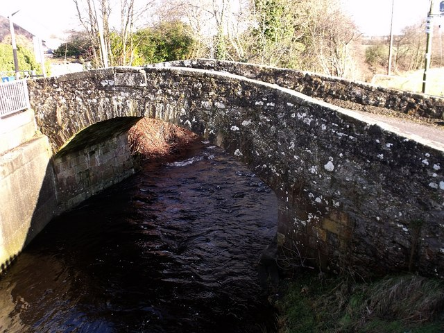 Bridge over the Bannock Burn, Chartershall