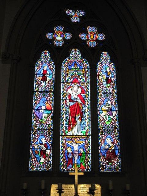 Window in the chancel