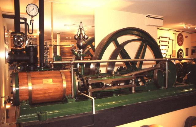 Steam engine, Glenmorangie Distillery