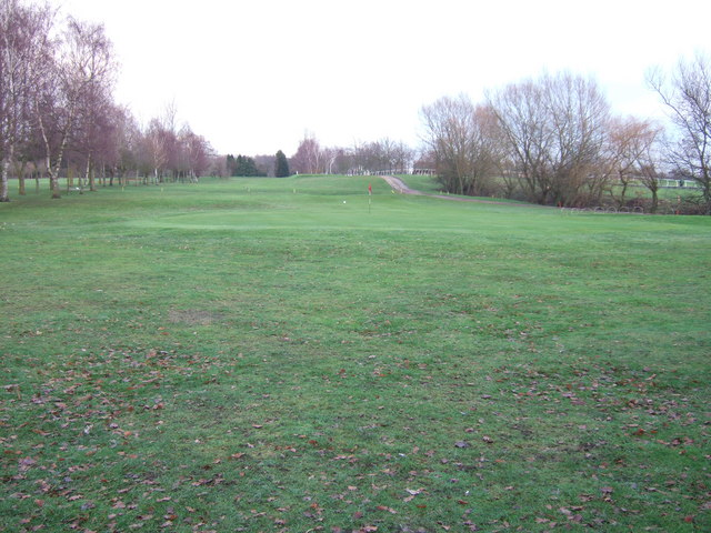 The 9th green, Fakenham Golf Club