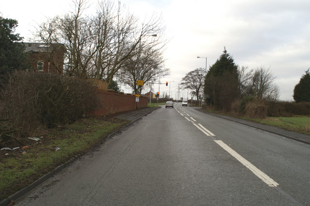Junction of the A57 with the A568