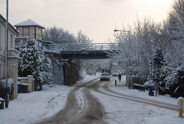 Railway Bridge, Broadwater Lane