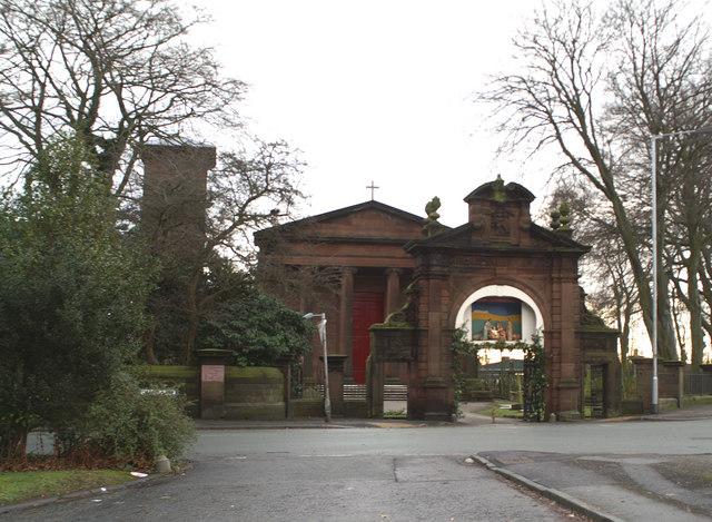 Nativity crib, St Bartholomew's Church, Rainhill Stoops
