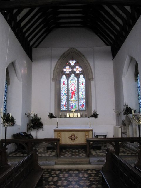 View down the chancel