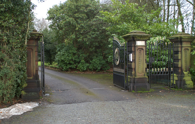 Entrance gates to Loyola Hall Retreat House