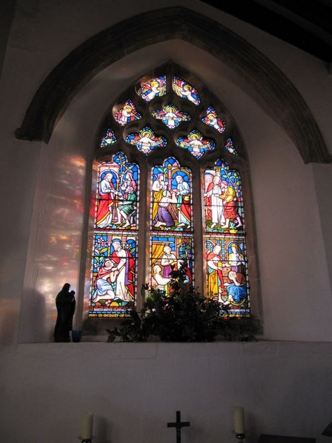 Window in the chapel