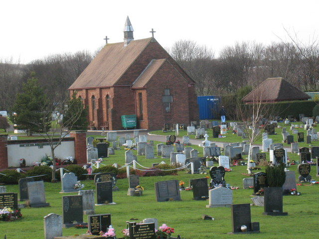 Cemetery near Thorpe Wood