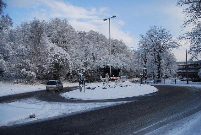 Roundabout, Eridge Rd