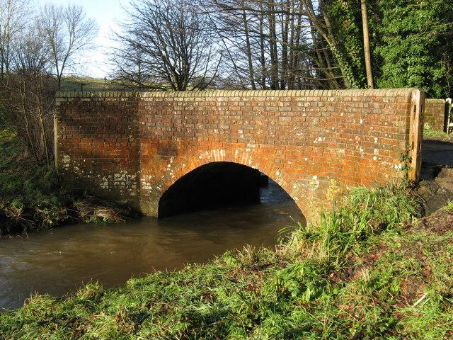 Bridge carrying Hurston Lane over the River Stor