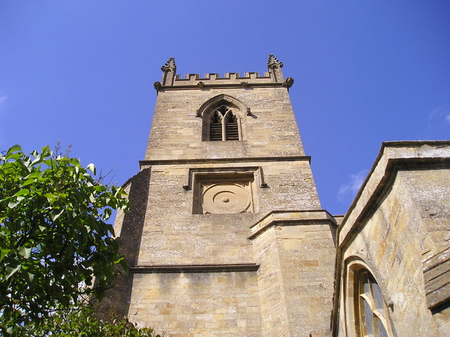 Chipping Norton: St Mary's Church tower
