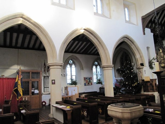 Arched in  the church