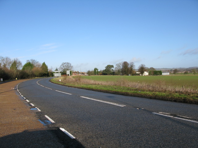 The A20 Ashford Road near Barrowhill