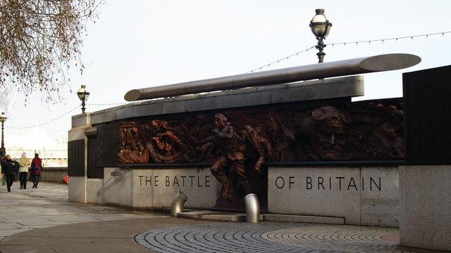 Battle of Britain Monument, London