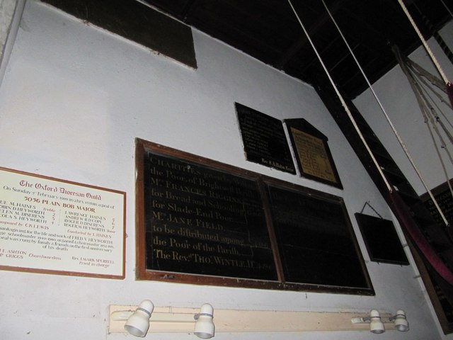 Plaques on the wall