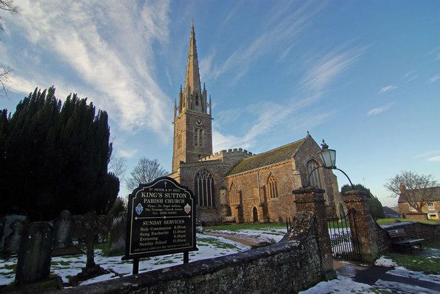 Kings Sutton Church
