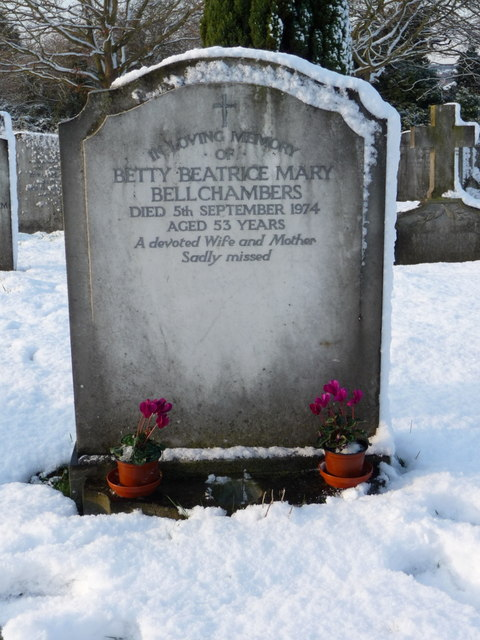 Bellchambers Family Grave, Waterfall Road Cemetery, London N14